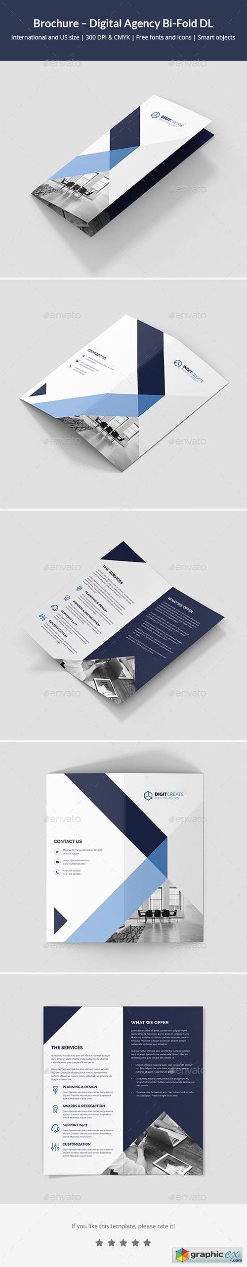 Brochure � Digital Agency Bi-Fold DL
