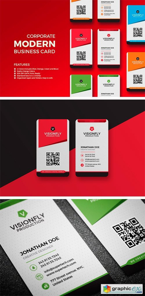 Corporate Business Card 2248614