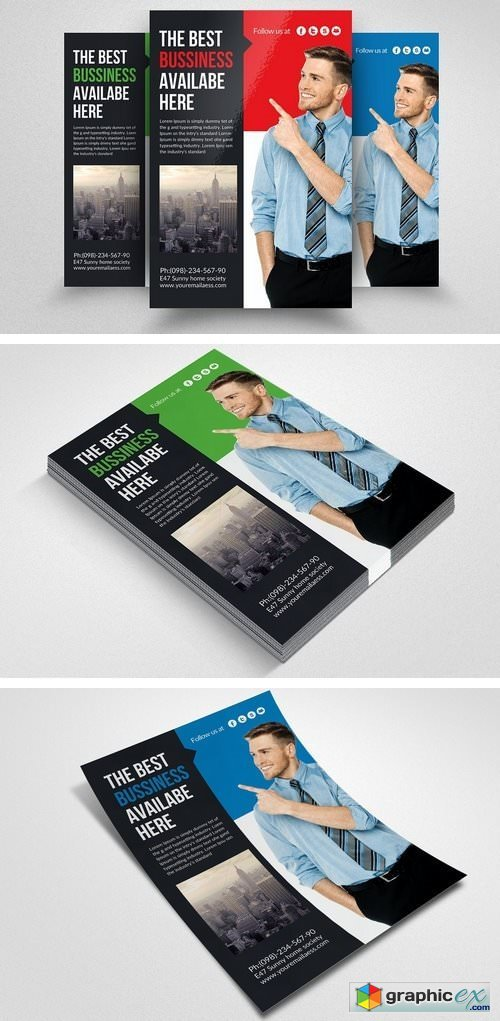 Corporate Business Flyers 1522346