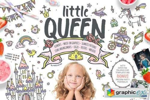 30%OFF Little Queen /an adorable set