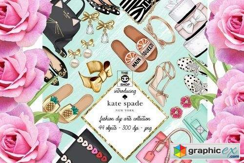 kate spade fashion set