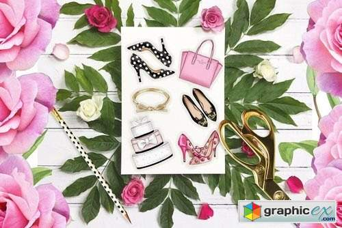Kate Spade Fashion set - 44 Objects