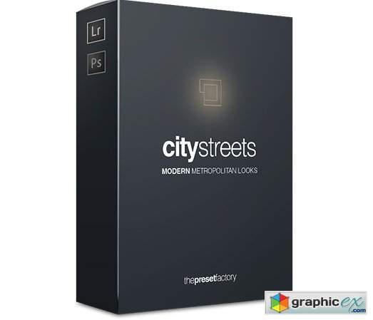 Preset Factory - CityStreets Lightroom Presets