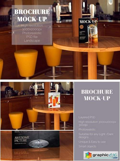 Bar Menu Mock-Up