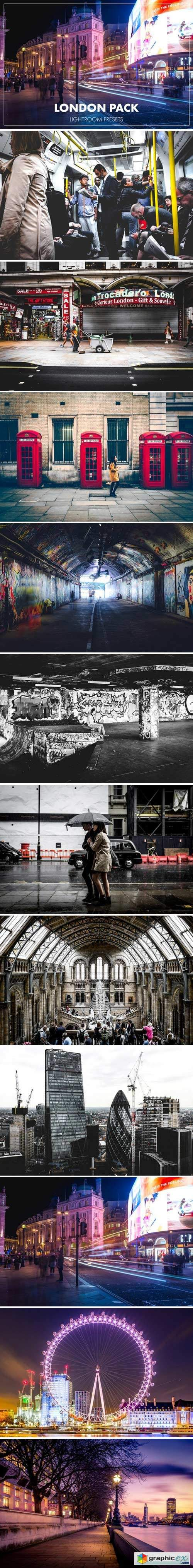 Lightroom Presets - London Pack