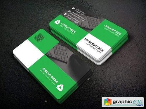 Corporate business card 2381308
