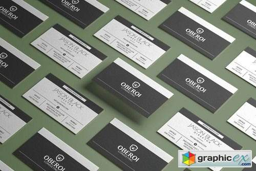 Black And White Business Card 2382986