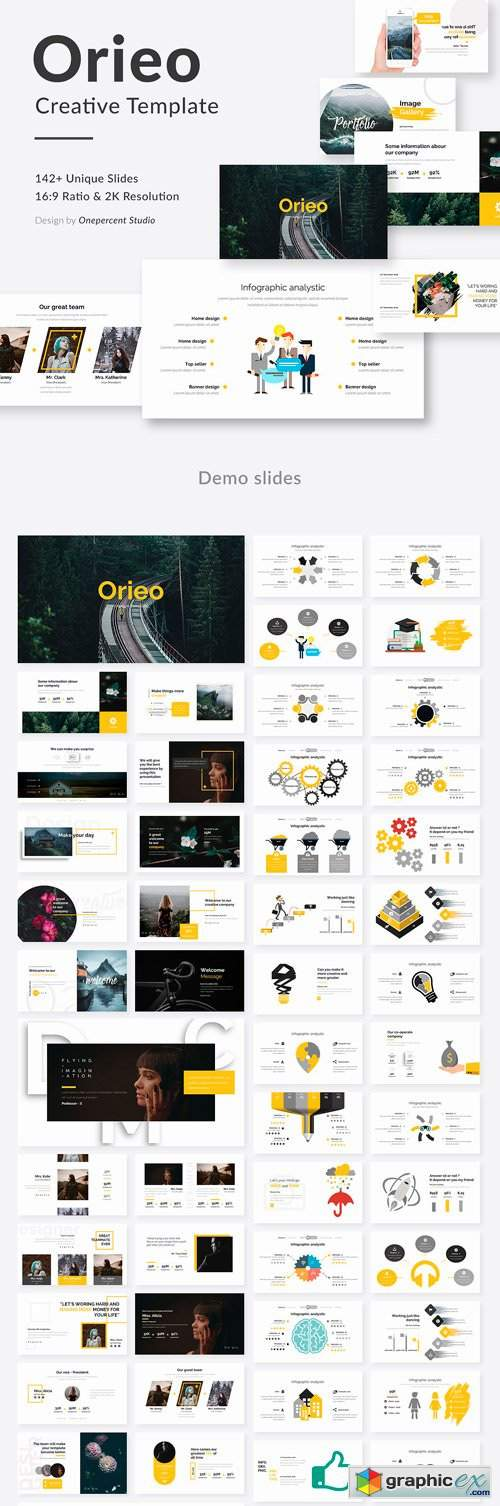 oreo creative keynote template  u00bb free download vector