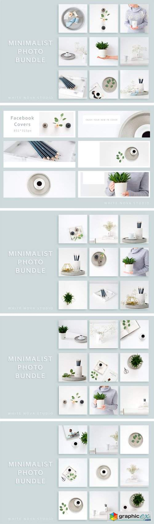 Minimalist Instagram Photo Bundle