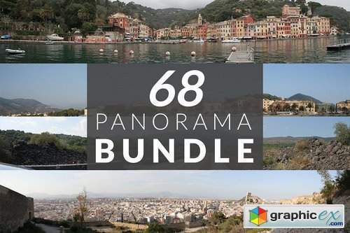 68 Panorama photos PACK