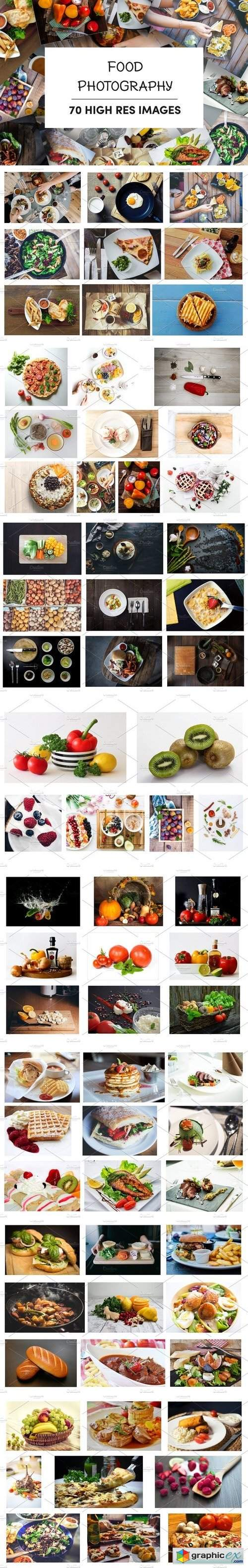 70 High Res Food Photography Images