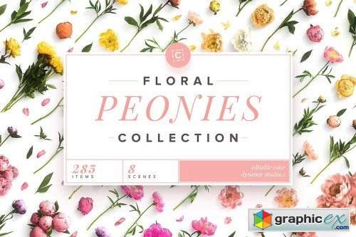 Floral Peonies Collection [20% OFF]