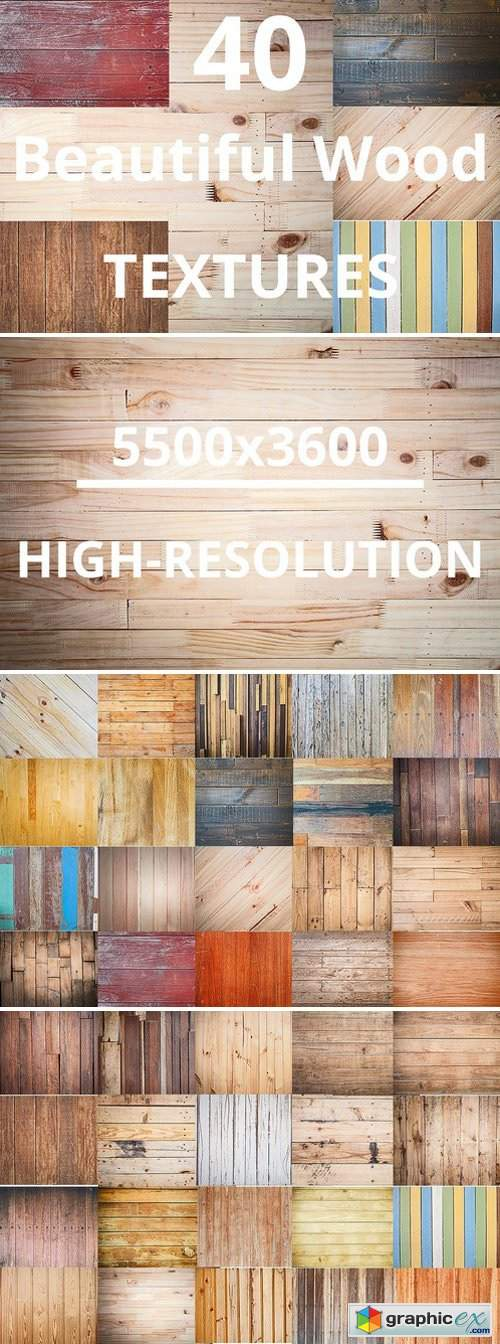 40 Beautiful Wood Detail textures