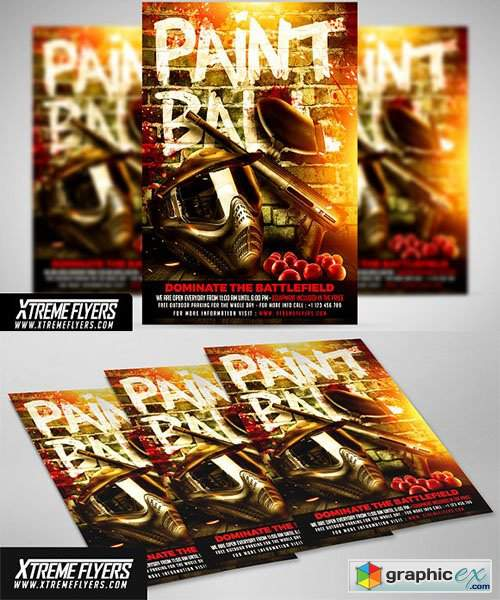 Paintball Flyer