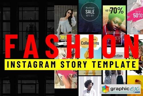 Instagram Fashion Story Templates