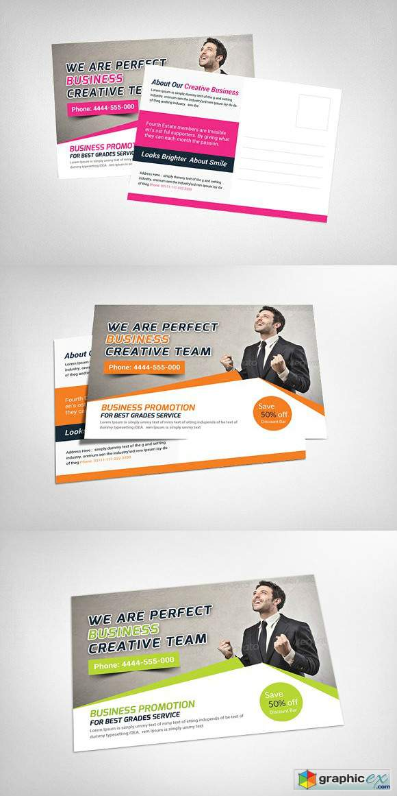 Creative business postcard template free download vector stock creative business postcard template fbccfo Gallery