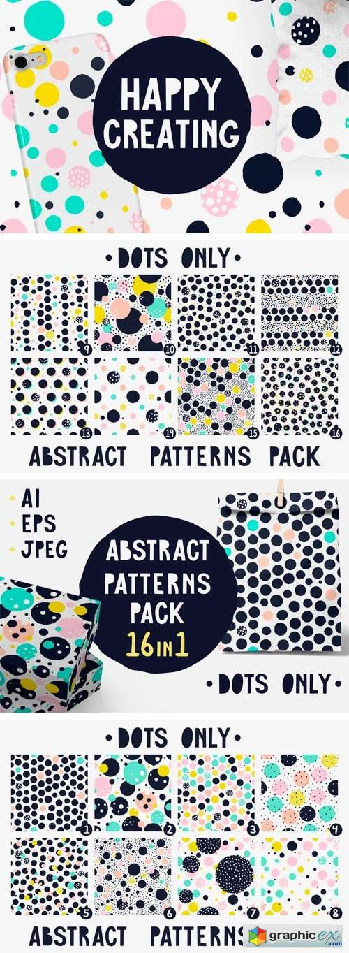 Abstract Seamless Patterns 2317002 » Free Download Vector
