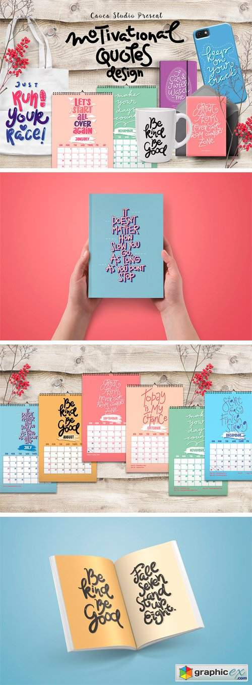 2018 Calendar, New Year's Greeting
