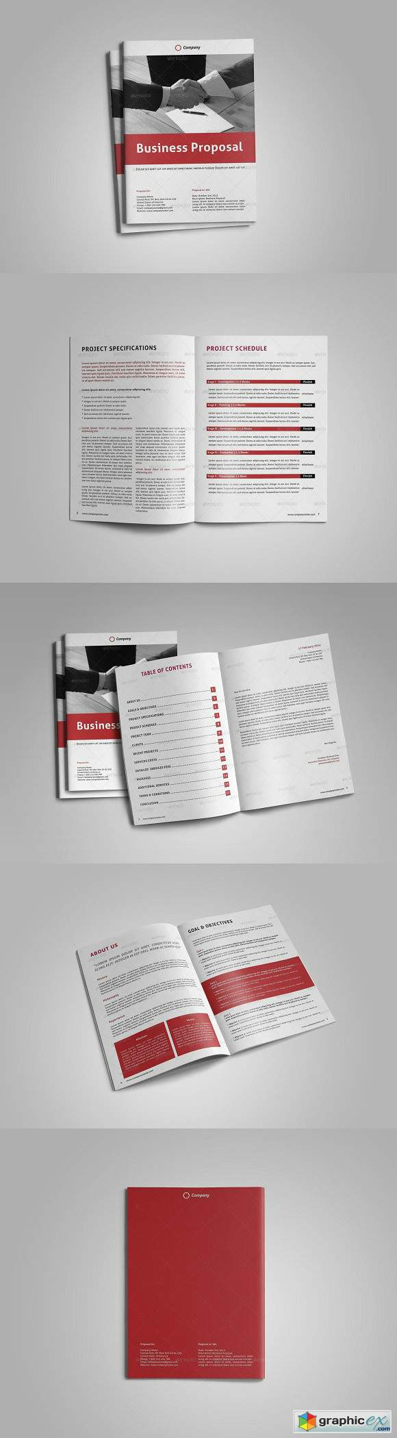Business Proposal Template 1583482