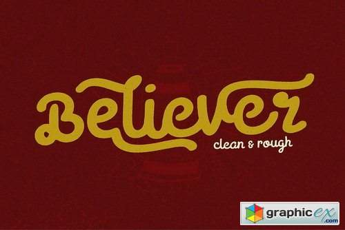 Believer Font Family