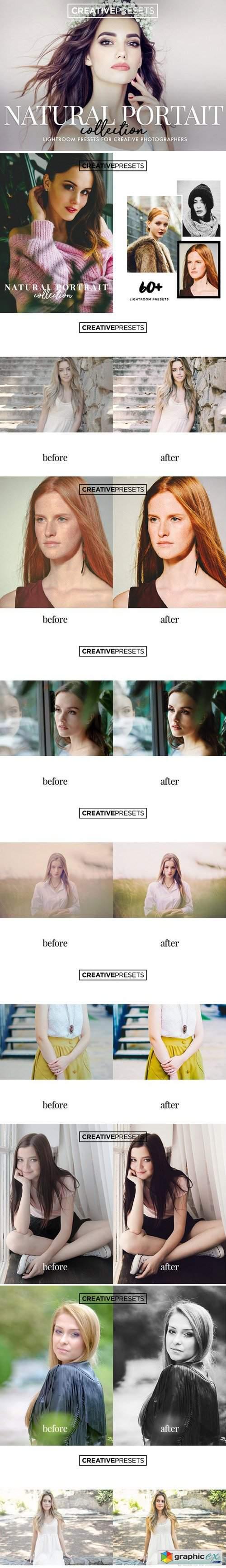 60 natural portrait lightroom preset  u00bb free download