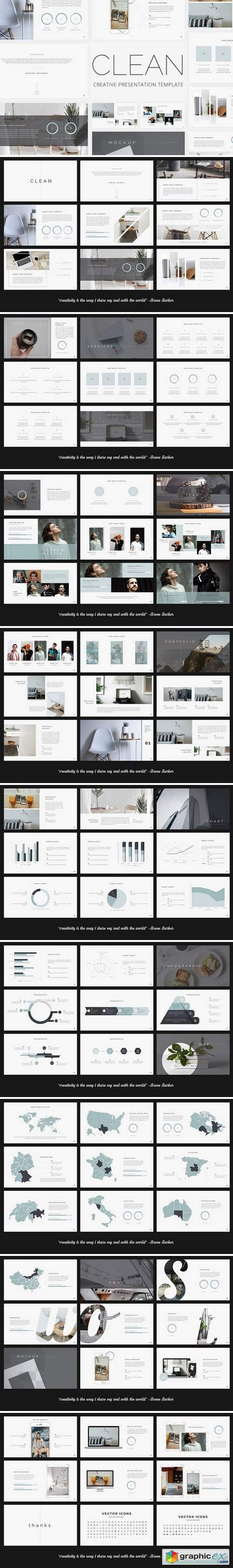 Clean - Creative PowerPoint Template