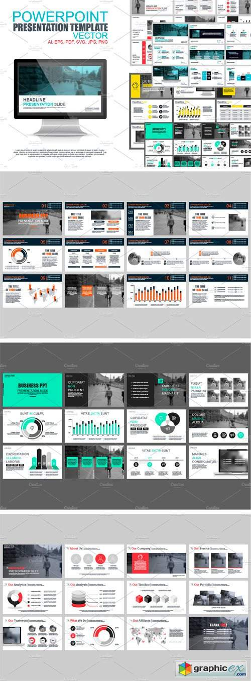 Powerpoint Presentation Templates 2448807