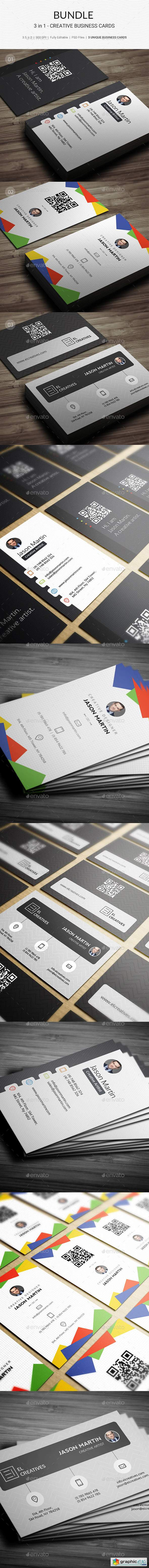 Bundle - 3 in 1 - Prime Business Cards - 179