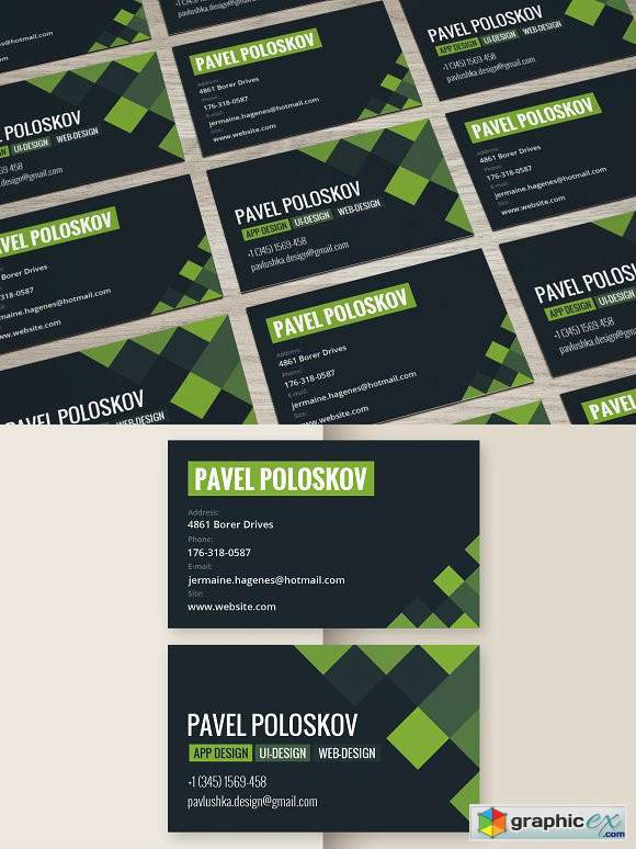 Corporate Business Card 2534388