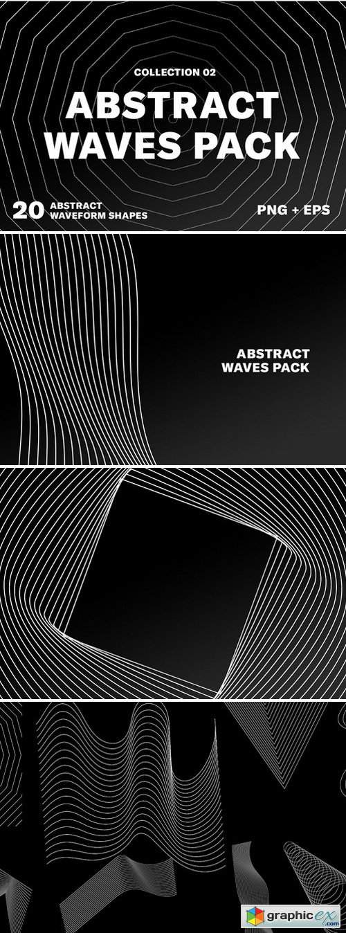 Abstract Wave Pack 02