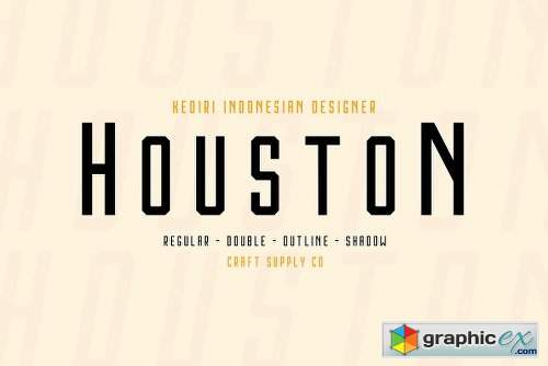 Houston Font Family