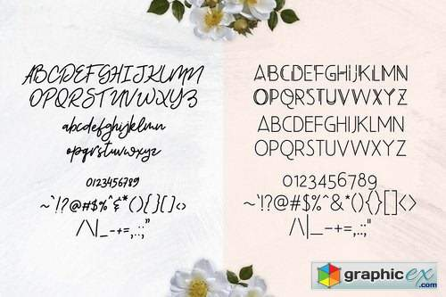 Beauty Salon Modern Font Duo