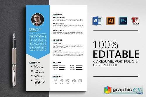 Word Resume Template 2432768