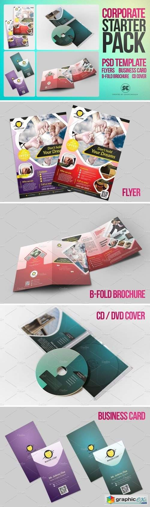 Corporate Starter Pack Psd Template 1590807