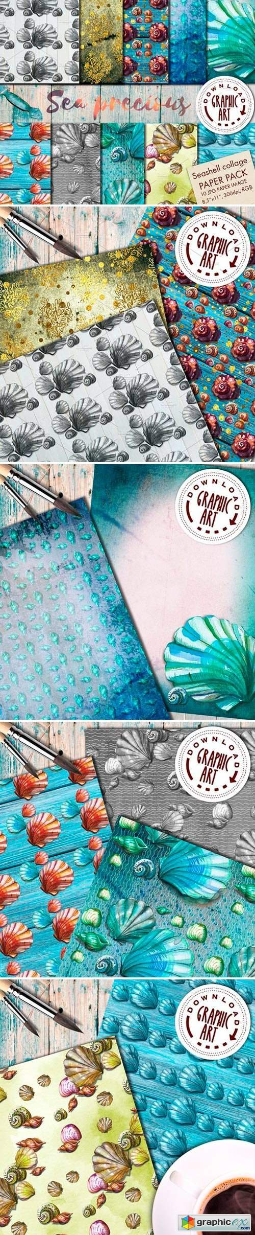 DIGITAL PAPER PATTERNS PACK 2403774
