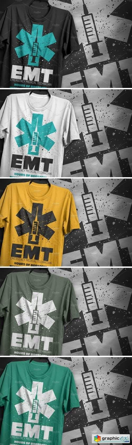 EMT - T-Shirt Design