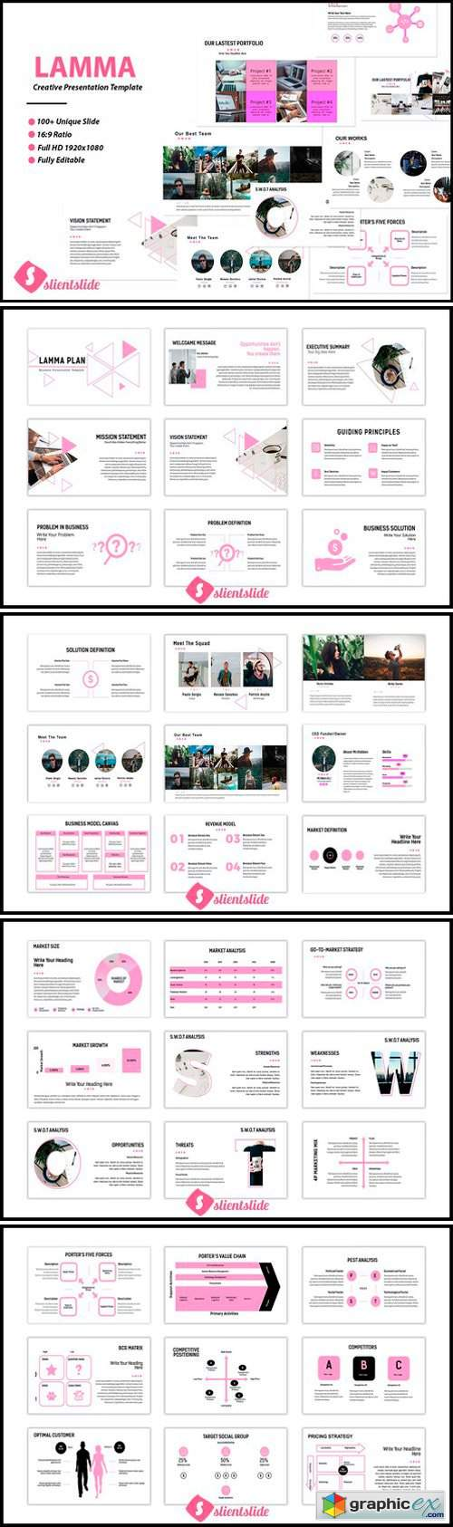Lamma Business Presentation Template