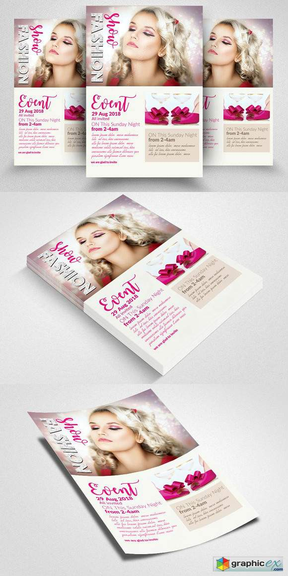 Fashion Flyer Template Vol 03