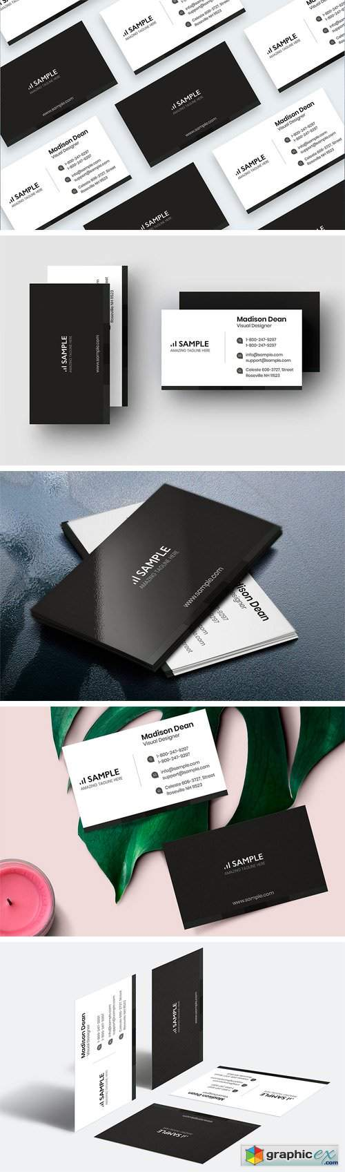 Minimal Business Card 2396664