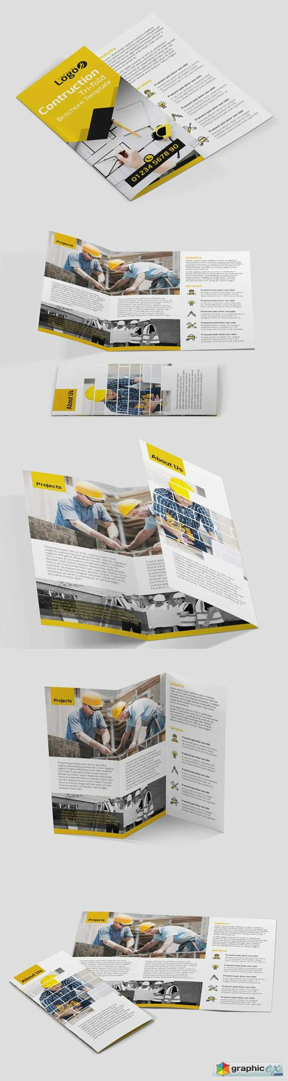 Construction Brochure Template