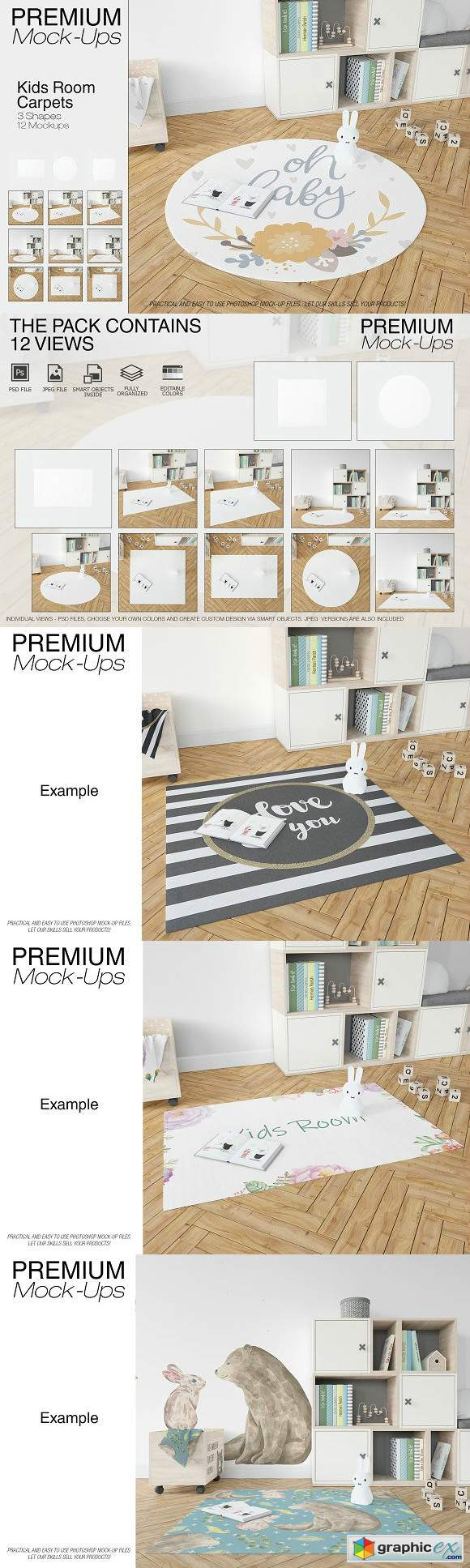 3 Types of Carpets in Kids Room