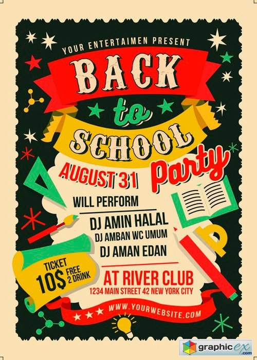Back to School Party 2516492