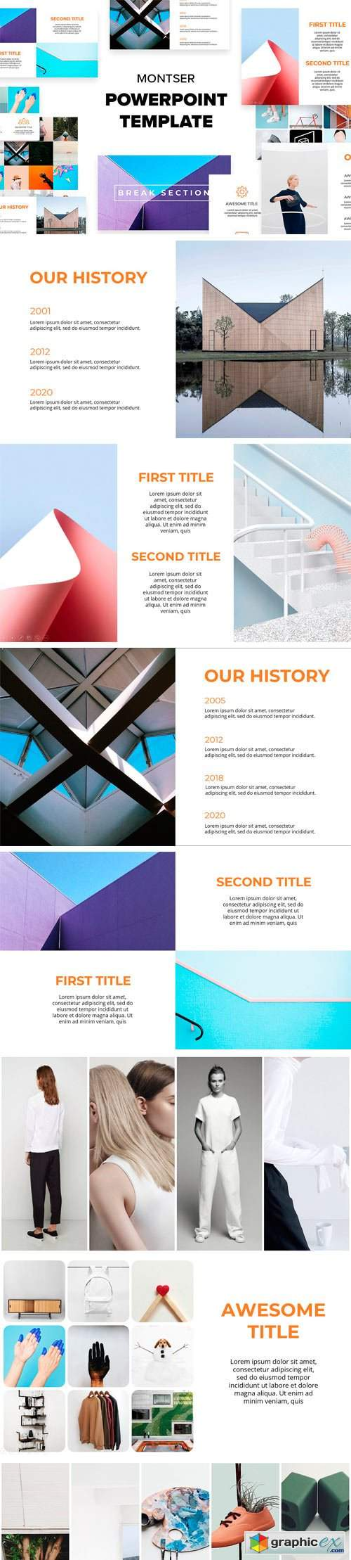 Montser Powerpoint Template