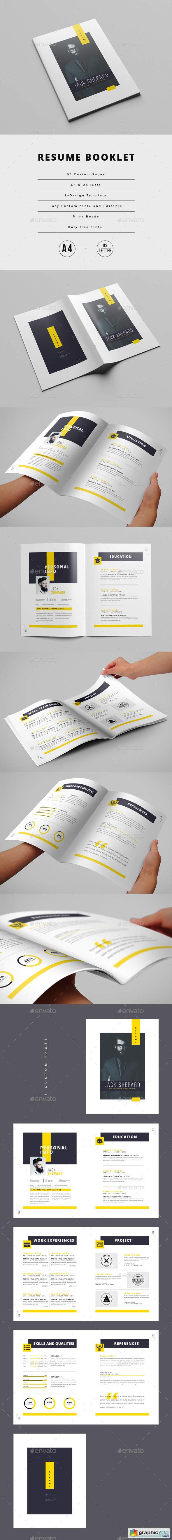 Resume Booklet (8 pages) 22043136