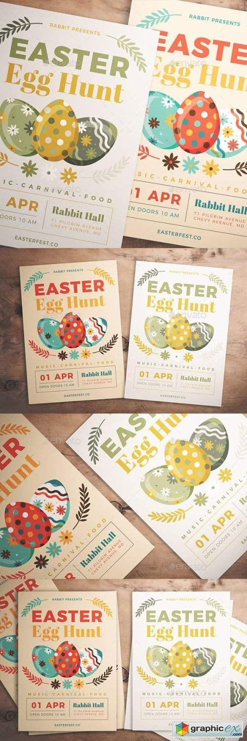 Easter Egg Hunt Flyer 21457391