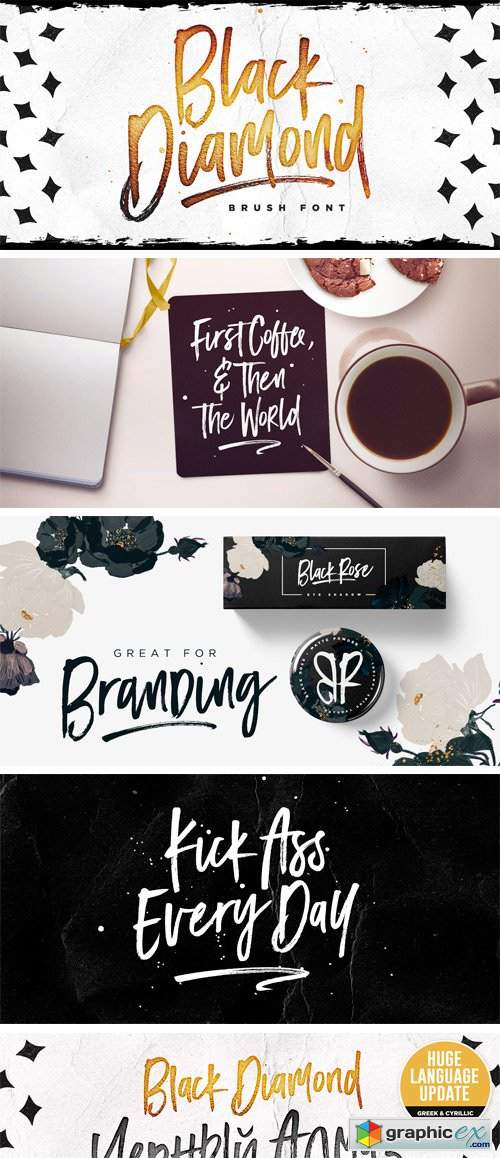 black diamond font  u00bb free download vector stock image