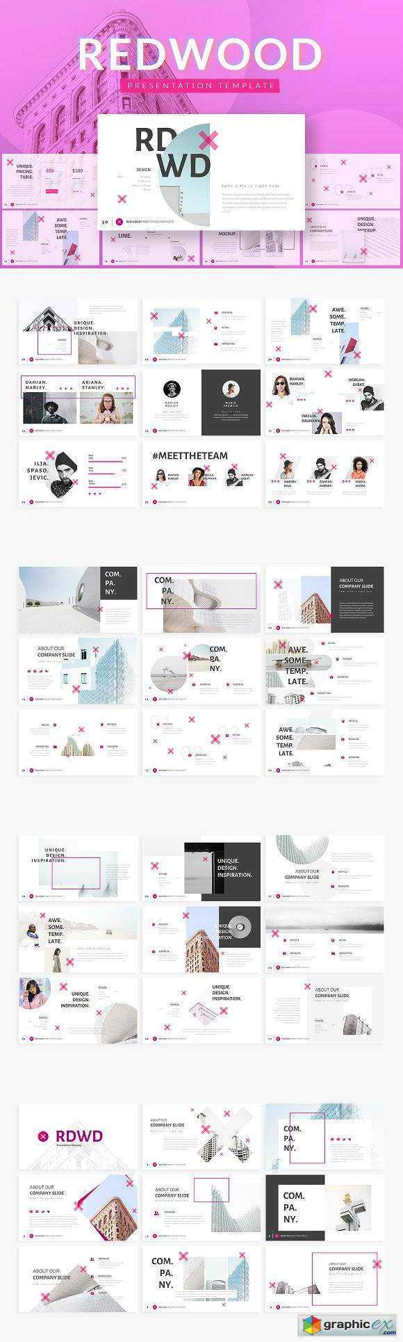 REDWOOD Powerpoint Template
