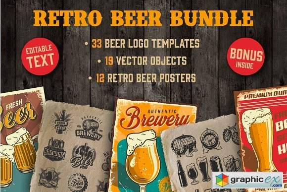 Retro Beer Bundle
