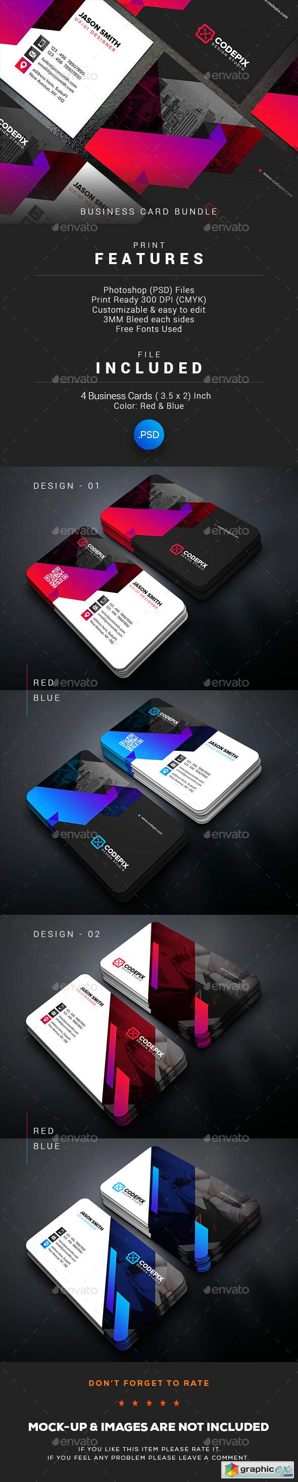 Business Card Bundle 22134690