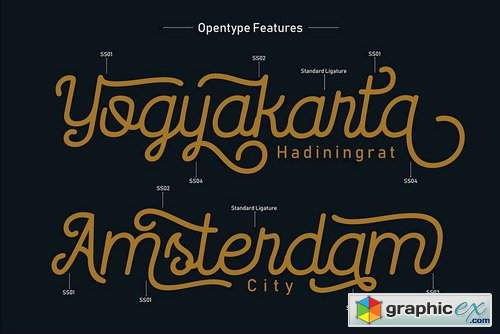 Routerline Font Family